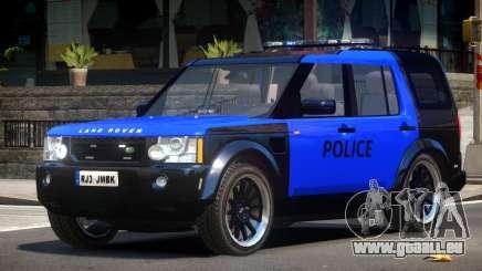 Land Rover Discovery Police V1.0 pour GTA 4