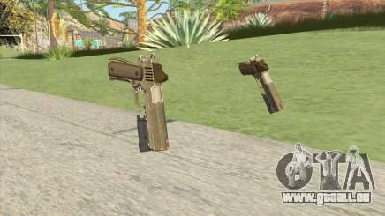 Heavy Pistol GTA V (Army) Flashlight V1 pour GTA San Andreas