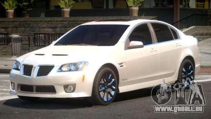 Pontiac G8 RS für GTA 4