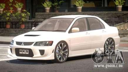 Mitsubishi Lancer Evolution VIII Tuned pour GTA 4