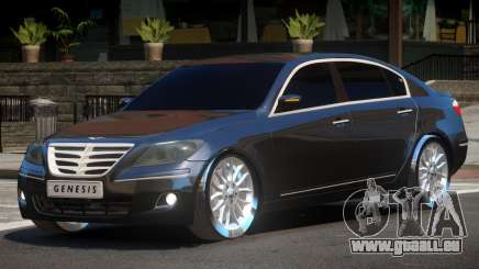 Hyundai Genesis Sedan V1.0 pour GTA 4