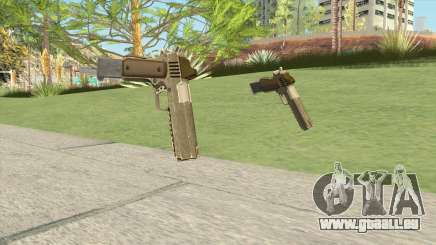 Heavy Pistol GTA V (Army) Base V2 pour GTA San Andreas