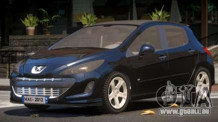Peugeot 308 RS pour GTA 4