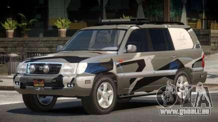 Toyota Land Cruiser Rally Cross PJ4 pour GTA 4