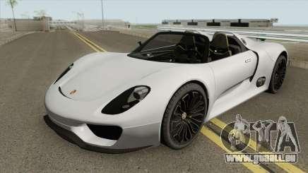 Porsche 918 Spyder (Concept) für GTA San Andreas