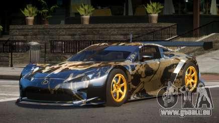 Lexus LFA GT PJ5 für GTA 4