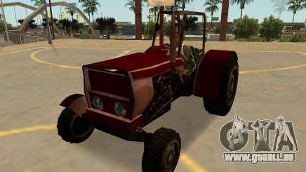 Stanley Traktor Rostig Mit Abzeichen & Extras für GTA San Andreas