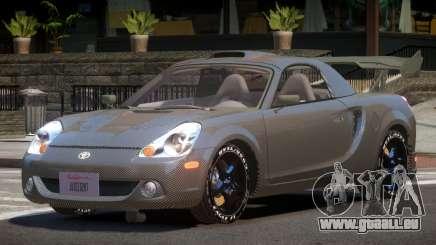 Toyota MRS2 Spyder PJ5 pour GTA 4