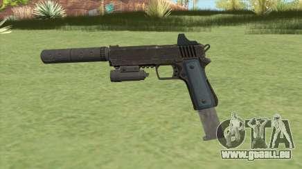 Heavy Pistol GTA V (LSPD) Full Attachments pour GTA San Andreas