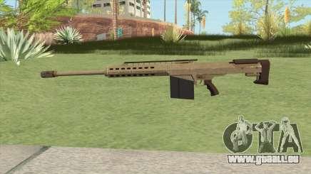 Heavy Sniper GTA V (Army) V2 pour GTA San Andreas