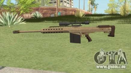 Heavy Sniper GTA V (Army) V1 pour GTA San Andreas