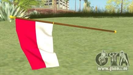 Indonesian Flag pour GTA San Andreas