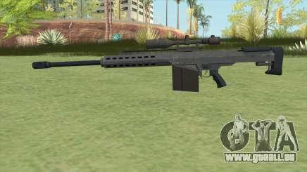 Heavy Sniper GTA V (LSPD) V1 pour GTA San Andreas