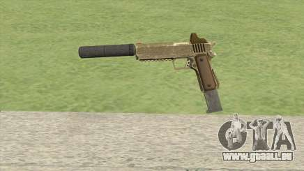 Heavy Pistol GTA V (Army) Suppressor V2 pour GTA San Andreas