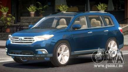Toyota Highlander 4HD 1.6 pour GTA 4
