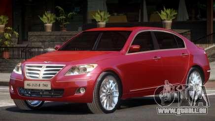 Hyundai Genesis Sedan V1.1 pour GTA 4