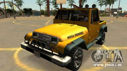 Canis Mesa Grande, Avec Des Badges & Extras pour GTA San Andreas