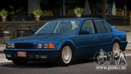 1996 BMW 750i E38 pour GTA 4