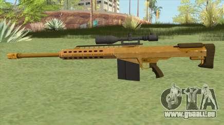 Heavy Sniper GTA V (Gold) V1 pour GTA San Andreas