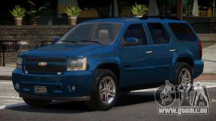 Chevrolet Tahoe Edit pour GTA 4