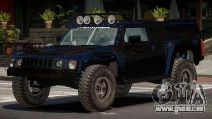 Hummer H3 Edit für GTA 4