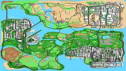 Remastered HQ Radar Stringer für GTA San Andreas