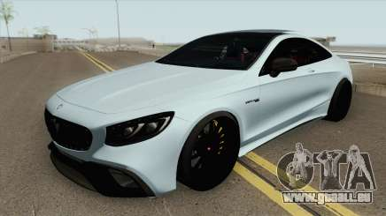 Mercedes-Benz S63 AMG Black pour GTA San Andreas