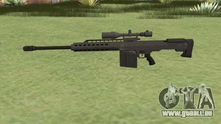 Heavy Sniper GTA V (Black) V1 für GTA San Andreas