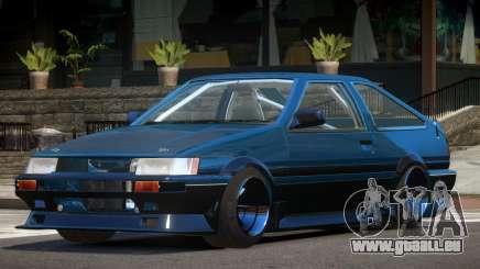 1986 Toyota Corolla Tuned für GTA 4
