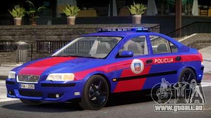 Volvo S60R Police V1.0 für GTA 4