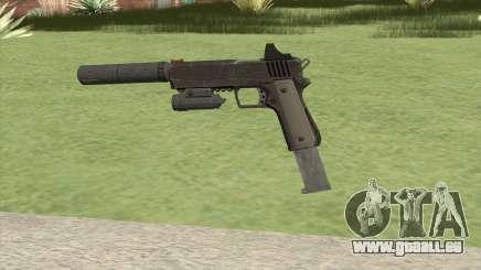 Heavy Pistol GTA V (NG Black) Full Attachments pour GTA San Andreas