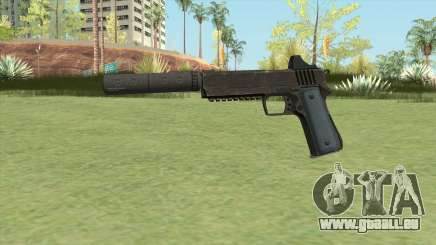 Heavy Pistol GTA V (LSPD) Suppressor V1 für GTA San Andreas