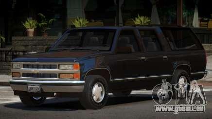 1998 Chevrolet Suburban pour GTA 4