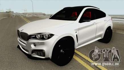 BMW X6 M50d für GTA San Andreas