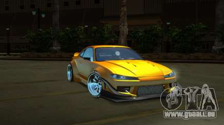 Nissan Silvia S15 Full Tunable by zveR für GTA San Andreas