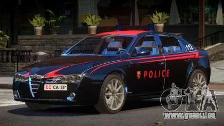 Alfa Romeo 159 Police V1.0 pour GTA 4
