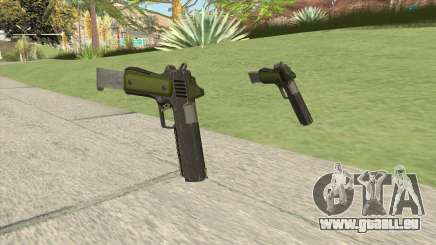 Heavy Pistol GTA V (Green) Base V2 pour GTA San Andreas