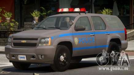 Chevrolet Tahoe Police V1.2 für GTA 4