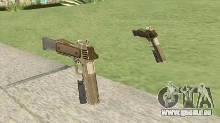 Heavy Pistol GTA V (Army) Flashlight V2 pour GTA San Andreas