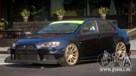 Mitsubishi Lancer X TDI für GTA 4