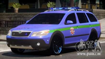 Skoda Octavia Scout Police V1.0 pour GTA 4