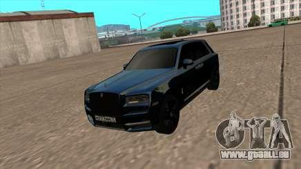 Rolls Royce Cullinan 2019 Black für GTA San Andreas