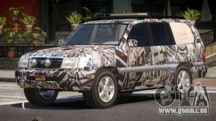 Toyota Land Cruiser Rally Cross PJ1 pour GTA 4