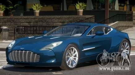 Aston Martin One 77 V1.0 pour GTA 4