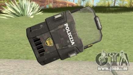 Police Shield für GTA San Andreas