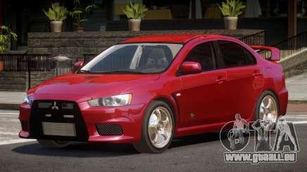 Mitsubishi Lancer Evolution X ST für GTA 4