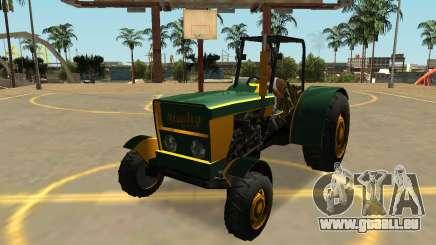 Stanley Tracteur avec des Badges & Extras pour GTA San Andreas