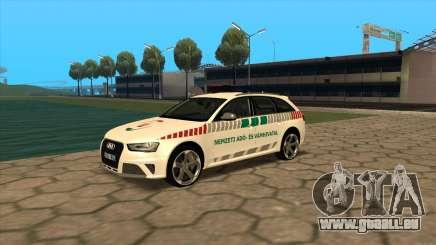 Audi RS4 NAV für GTA San Andreas