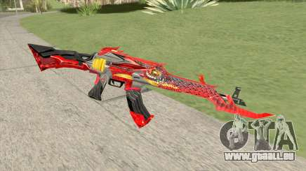 AK-47 (Unicorn Fire) pour GTA San Andreas