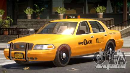 Ford Crown Victoria Taxi NY für GTA 4